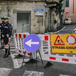 Ultimi lavori di messa in sicurezza  Oggi Lariana chiusa dalle 9.30 alle 11.30