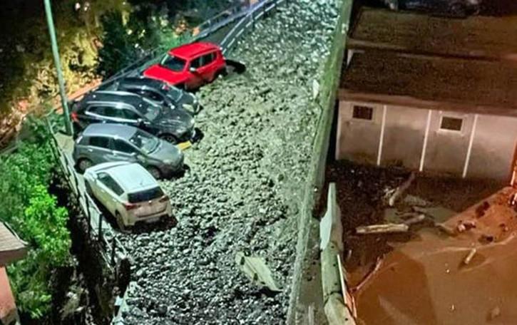 Allarme maltempo nella notte Codice rosso sul Comasco