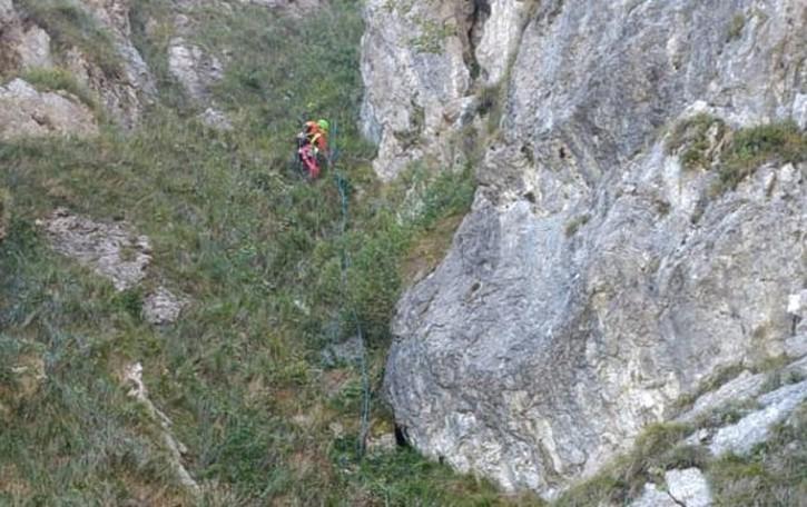 Bloccato sulla ferrata  del Monte Grona  Arriva il Soccorso Alpino
