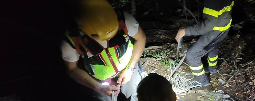 Canzo, escursionista perde il sentiero  Soccorsa nella notte sul Cornizzolo