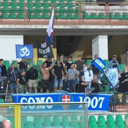 Il cuore dei tifosi del Como Altra lunghissima trasferta
