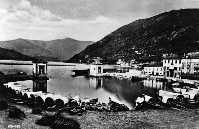 1850 - il porto di Como